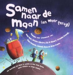Verwonderlijk Samen naar de maan (en weer terug) : gedichten over vriendschap NC-04